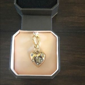 Juicy couture heart charm